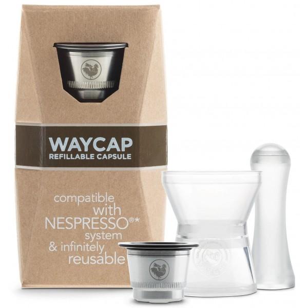 Kit capsule réutilisable - compatible Nespresso - WayCap