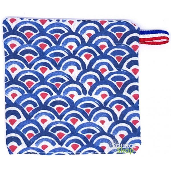 Lingette réutilisable & lavable en coton BIO non teinté ni blanchi