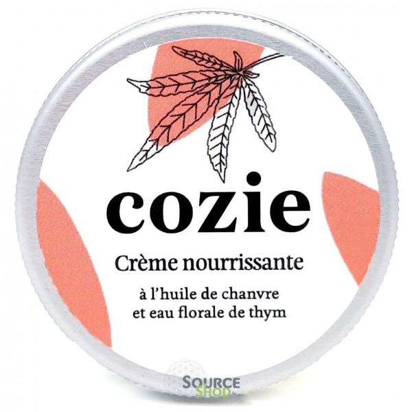 Crème visage nourrissante BIO au chanvre & thym - 30ml - COZIE