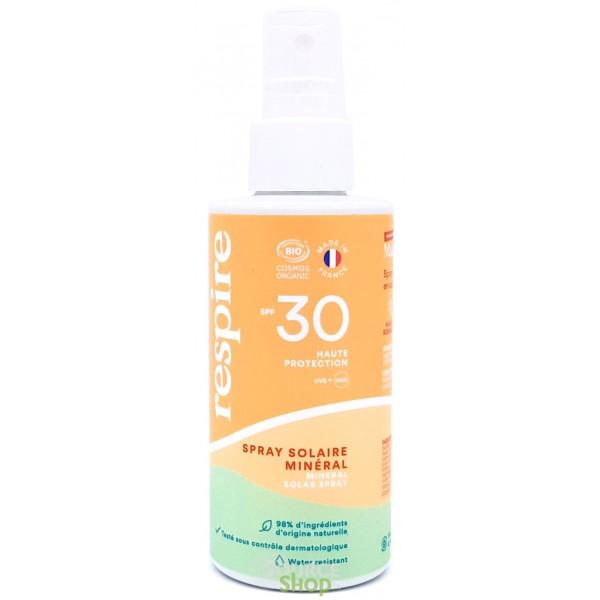 Spray solaire BIO SPF 30 - 120ml - Respire
