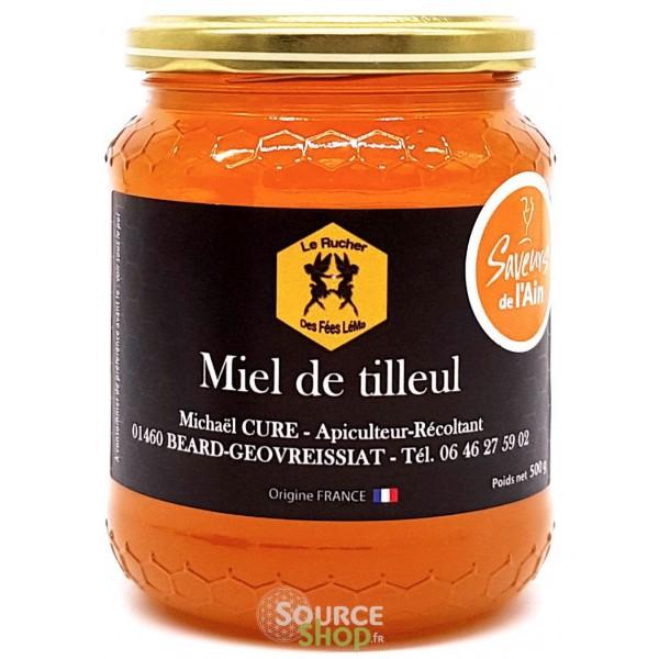 Miel de tilleul du Haut-Bugey - Le Rucher des Fées Léma