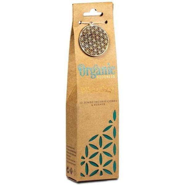 Cônes d'encens Sauge Blanche - Organic Goodness
