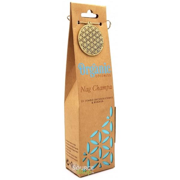 Cônes d'encens Nag Champa - Organic Goodness