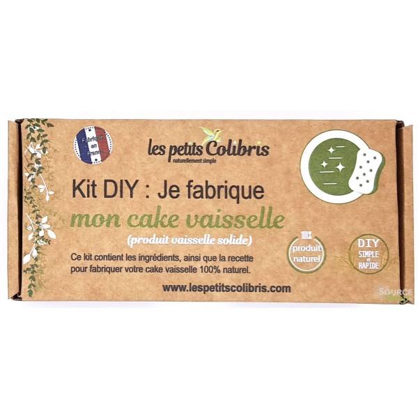 Kit DIY : Produit vaisselle solide - Cake Vaisselle - Les Petits Colibris