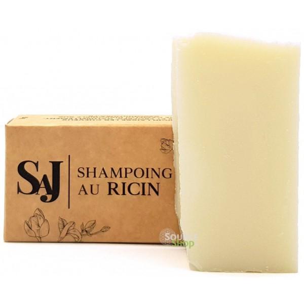 Shampooing solide BIO neutre au ricin - sans huiles essentielles - Savonnerie Artisanale du Jura