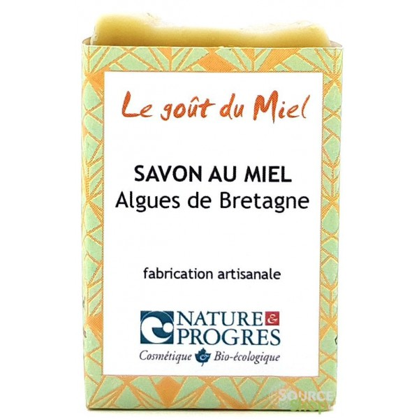 Savon BIO aux algues de Bretagne - sans HE - Le Goût du Miel