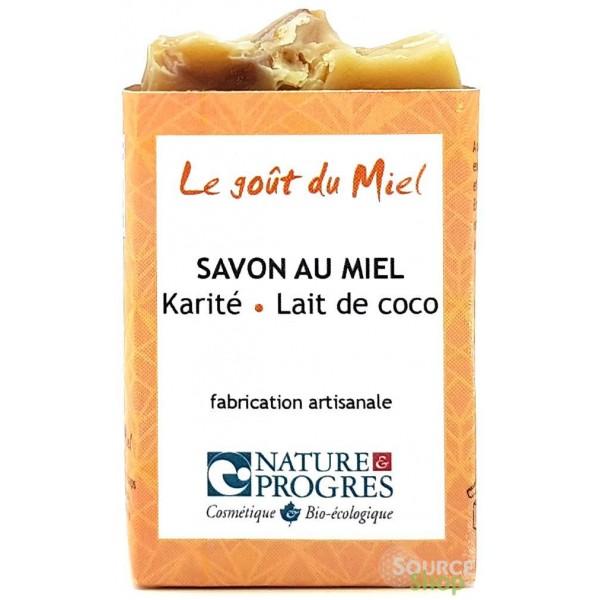 Savon BIO au karité & lait de coco - sans HE - Le Goût du Miel