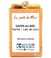 Savon BIO au karité & lait de coco - sans huiles essentielles