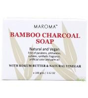 Savon ayurvédique au charbon de bambou