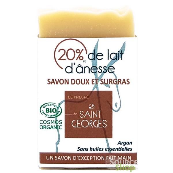 Savon BIO au lait d'ânesse & argan - sans huiles essentielles