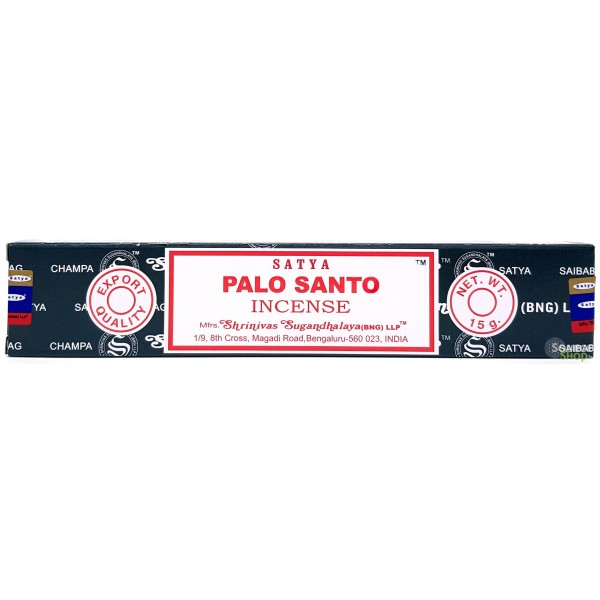 Encens Palo Santo - bois sacré - Satya