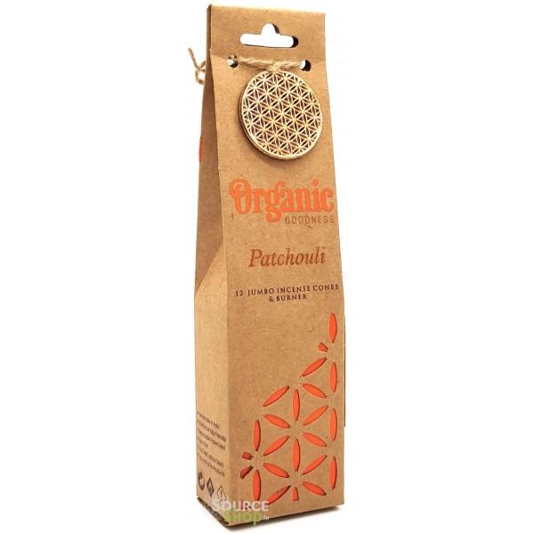 Cônes d'encens Patchouli - Organic Goodness