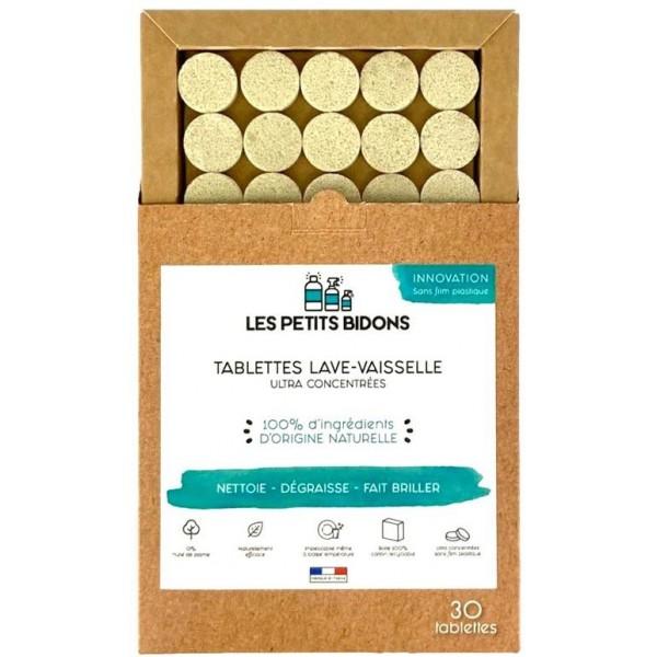 Tablettes lave-vaisselle BIO - Les Petits Bidons