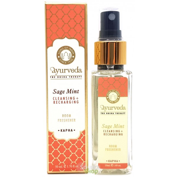 Spray d'ambiance Sauge & Menthe - Kapha - Song of India