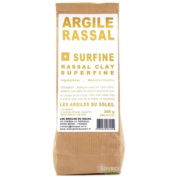 Argile Rassal - Surfine - Les Argiles du Soleil