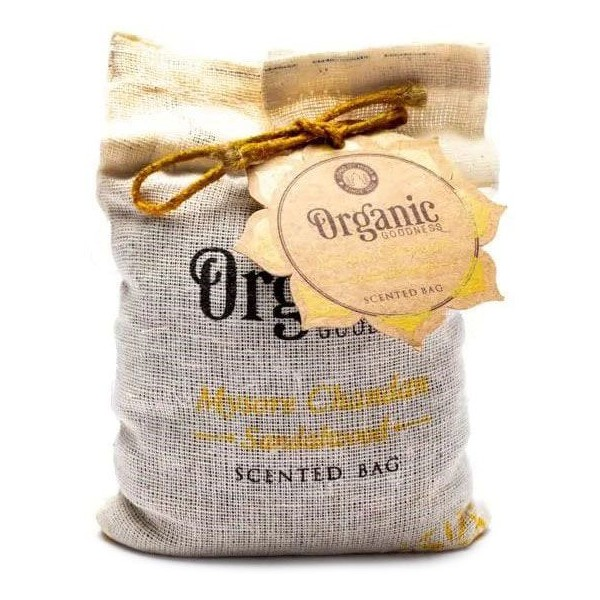 Sachet parfumé ayurvédique Bois de Santal - 150g - Organic Goodness
