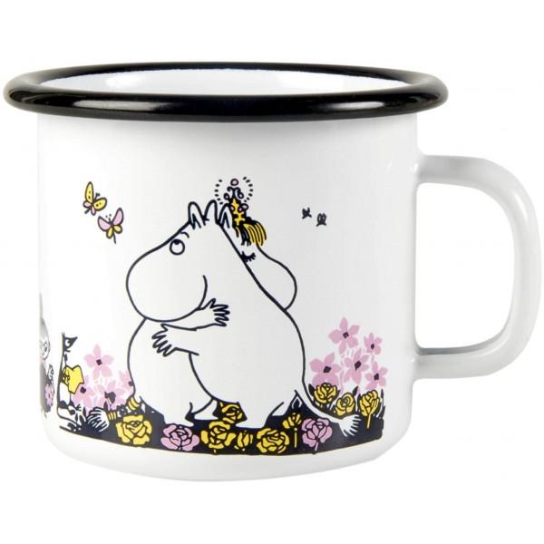 Mug en émail Moomin Hug - Moomin Friends - Muurla