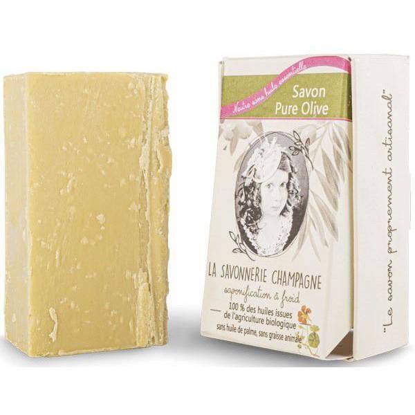Savon BIO pure Olive - sans huile essentielle - Maison Sidonie Champagne