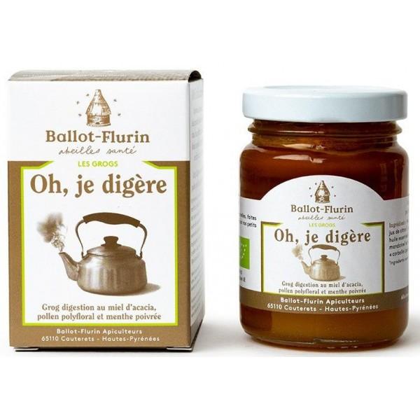 Grog BIO digestion Oh, Je Digère - 125g - Ballot Flurin