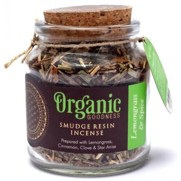 Encens résine Citronnelle & Epices - Organic Goodness