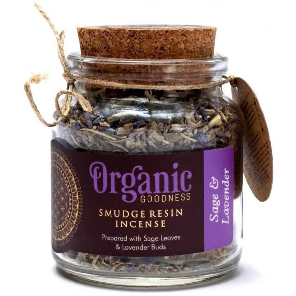 Encens résine Sauge & Lavande - Organic Goodness