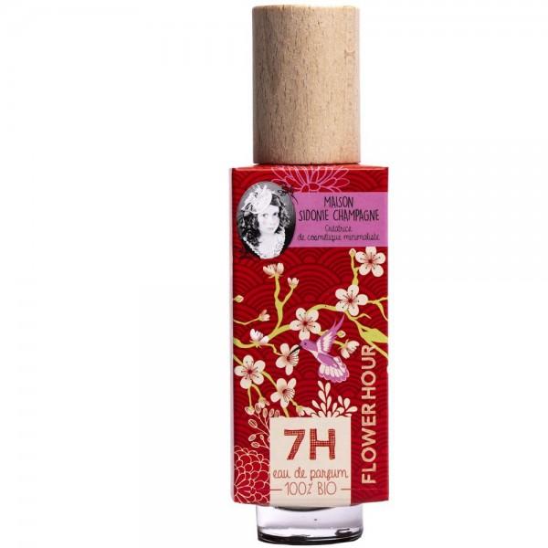 Eau de parfum BIO Flower Hour - 7H - Maison Sidonie Champagne