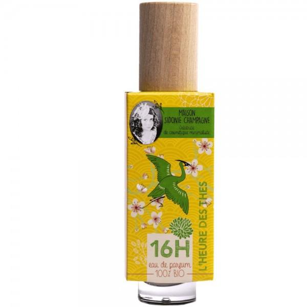 Eau de parfum BIO L'Heure des Thés - 16H - Maison Sidonie Champagne