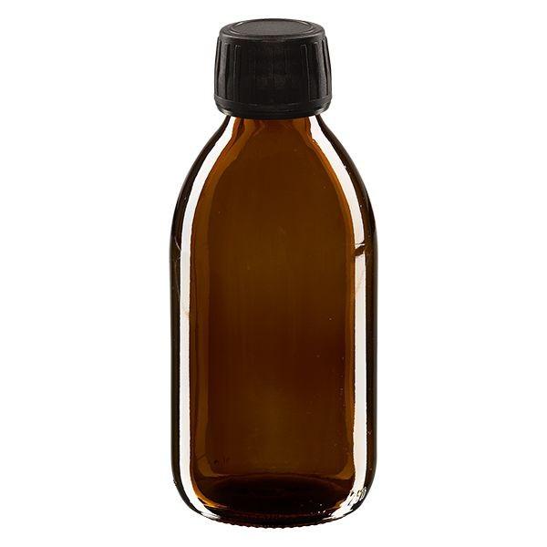 Flacon en verre ambré médical - 50ml, 100ml ou 250ml