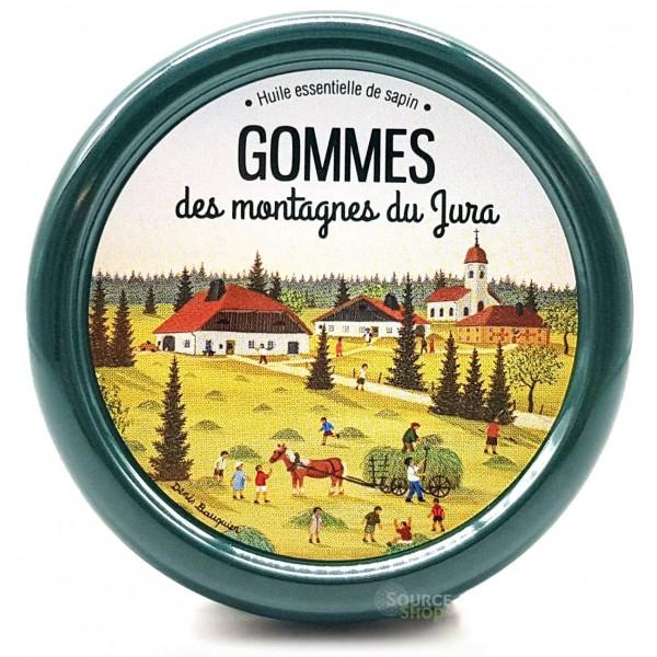 Gommes BIO des montagnes du Jura - Aromacomtois