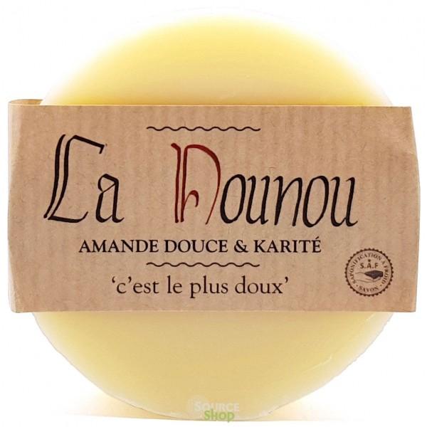 """Savon amande douce & karité """"La Nounou"""" - Savonnerie du Pilat"""