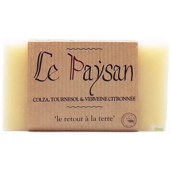 "Savon colza, tournesol & verveine ""Le Paysan"" - Savonnerie du Pilat"