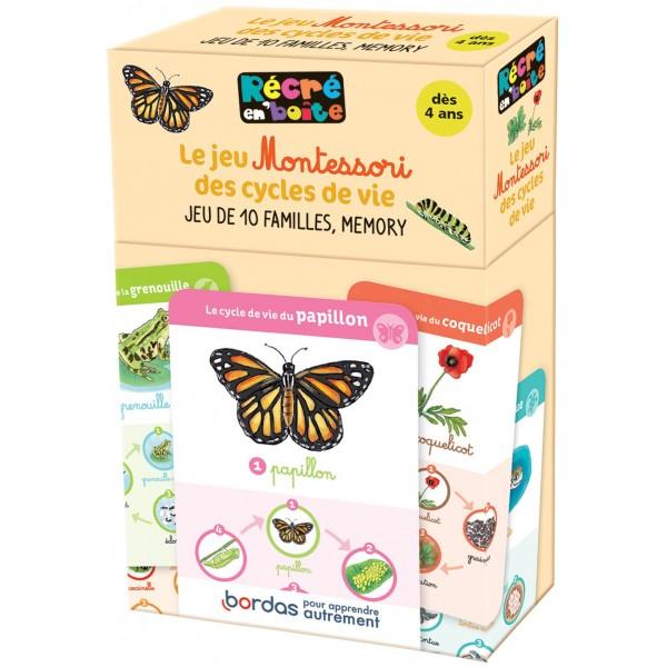 Le Jeu Montessori des Cycles de Vie - Jeu de 10 familles mémory