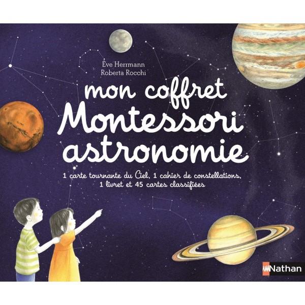 Mon coffret Montessori astronomie - Nathan