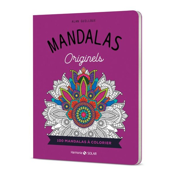 Mandalas Originels - 100 mandalas à colorier