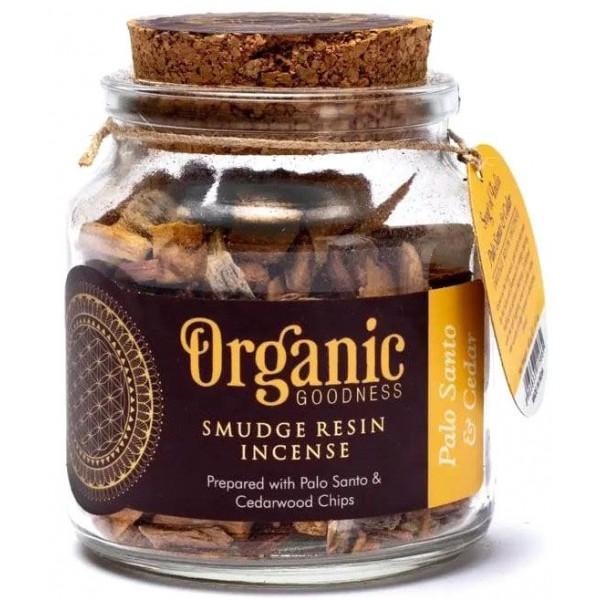 Encens résine Palo Santo & Cèdre - Organic Goodness