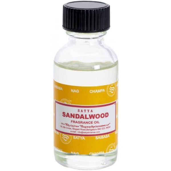 Huile parfumée Bois de Santal - 30ml - Satya